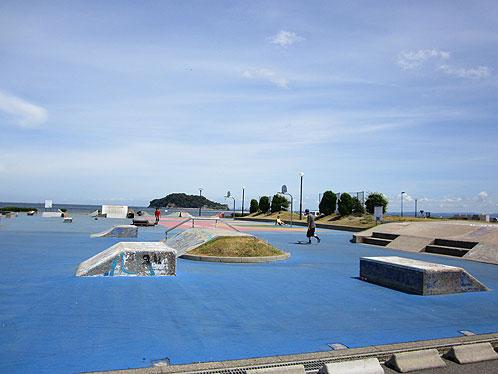 「うみかぜ公園スケートボードパークリニューアル」の画像検索結果