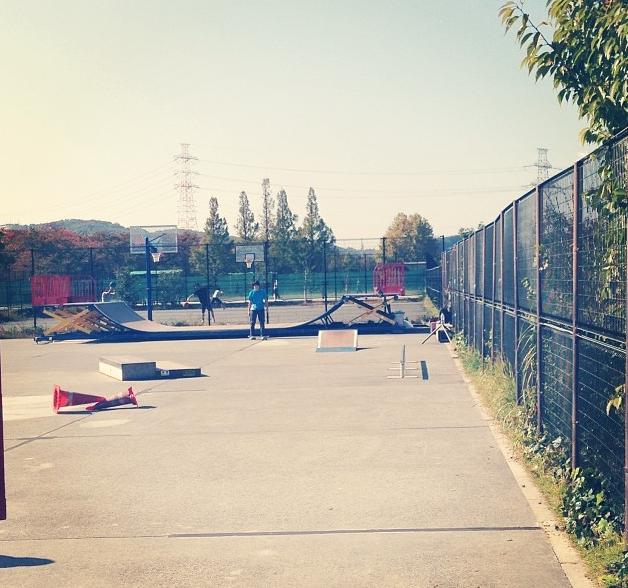 稲城北緑地公園スケートパーク