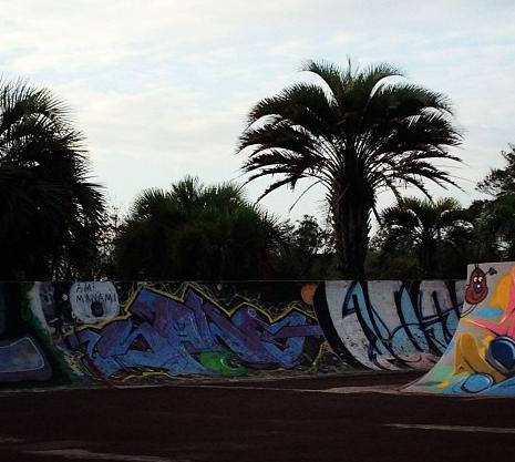 蓮沼海浜公園ローラースケートパーク