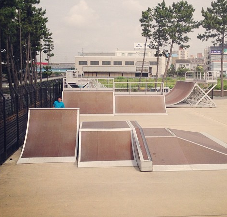 塩浜第2公園スケートパーク