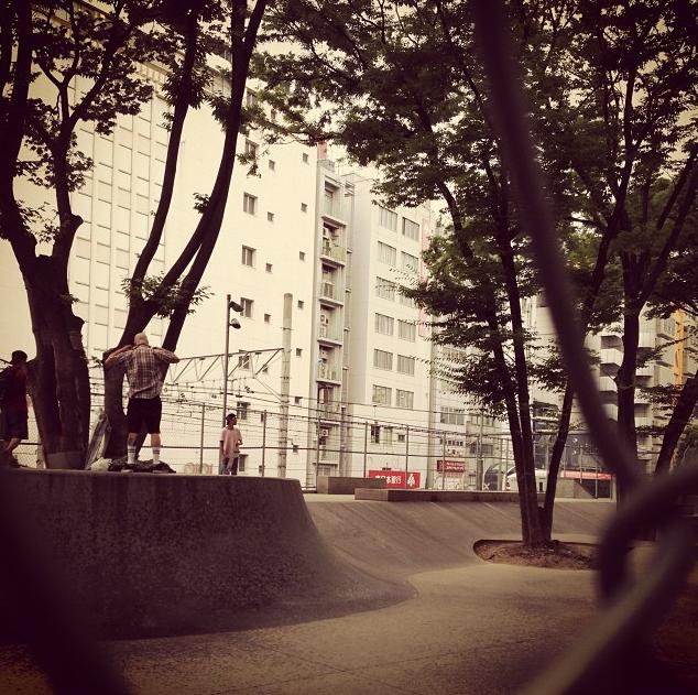 宮下公園スケートパーク
