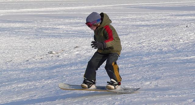初級者 スノーボード