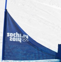 スノーボードパラレル 旗門