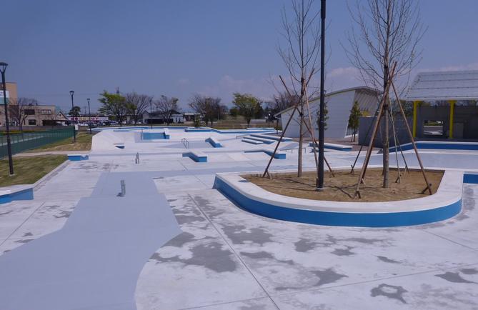 富山スケートパーク