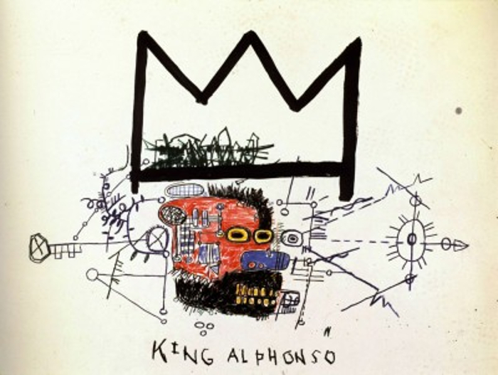 basquiat-king