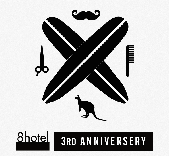 Cutback To Australia & 8HOTEL 3rd Anniversary