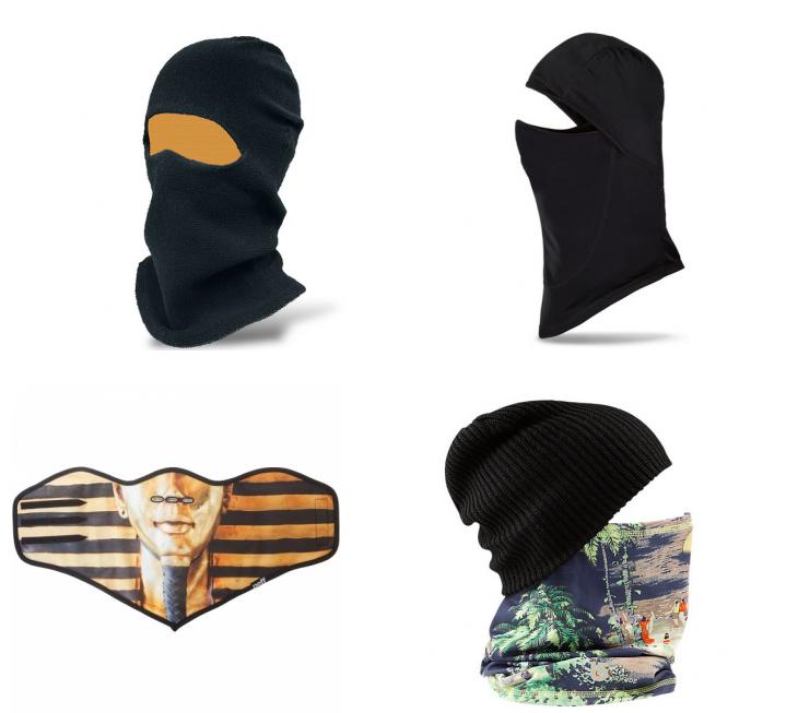 フェイスマスクたち