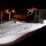 スノースケートボーディング