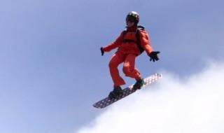 雲の上でスノーボード2