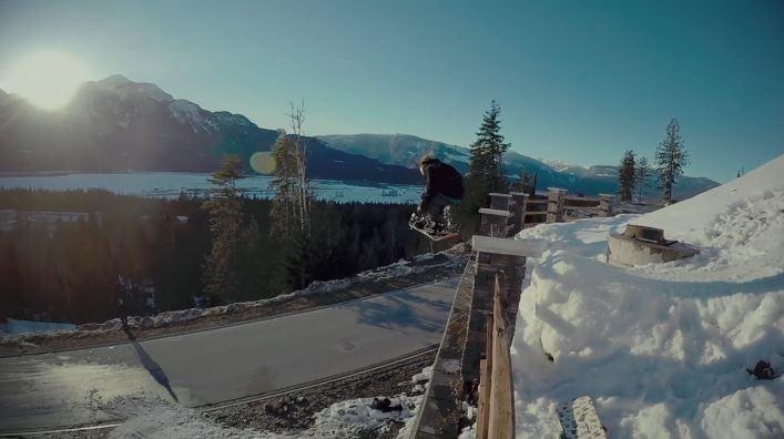 スウェーデン出身ライダー、ヨハン・ローゼンの滑りをチェック