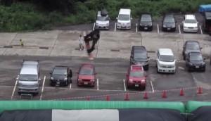 平野歩夢の超貴重な富山キングス・ジャンプ映像3