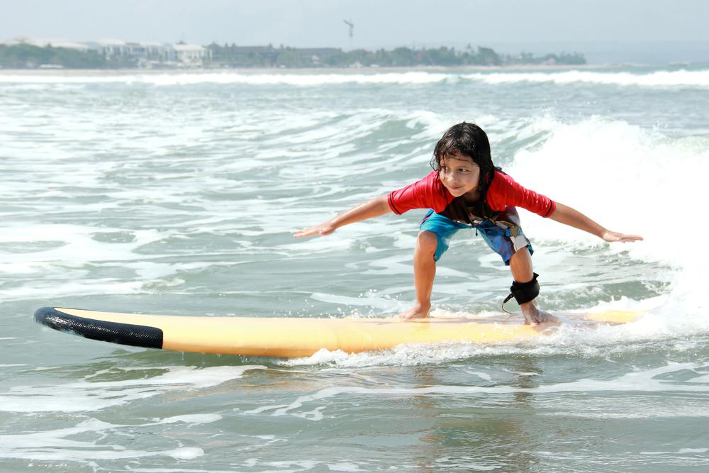 サーフィン バランス