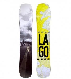 LAGO スノーボード板2