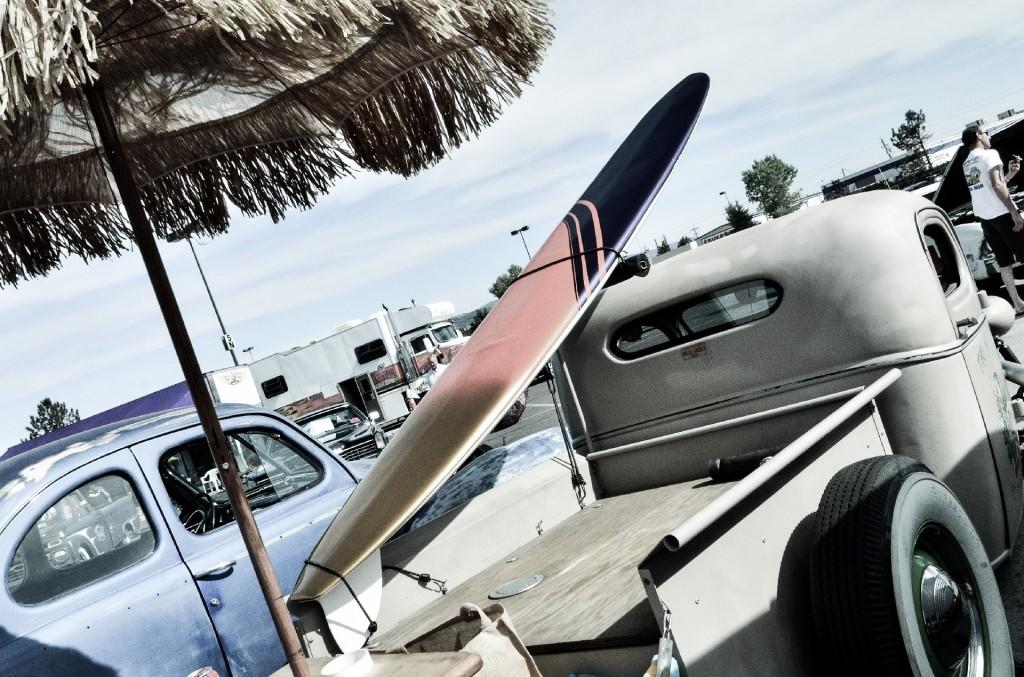サーフィン 車