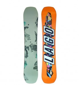 LAGO スノーボード板