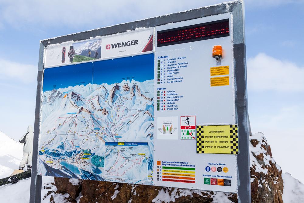 スキー場マップ