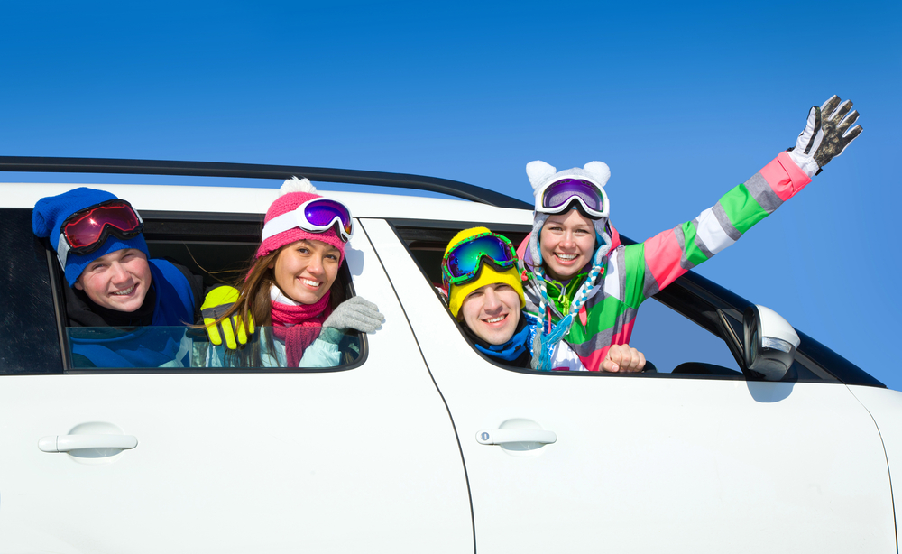 スノーボード 家族