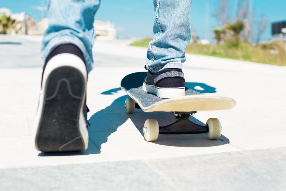 スケートボード始める