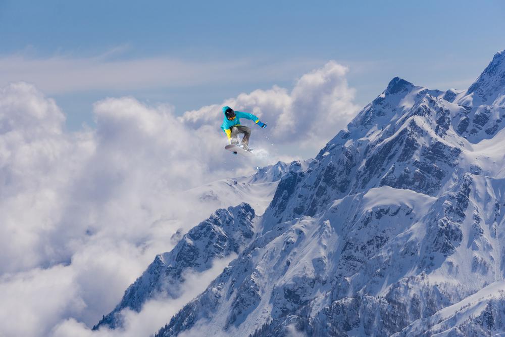 スノーボード 自然