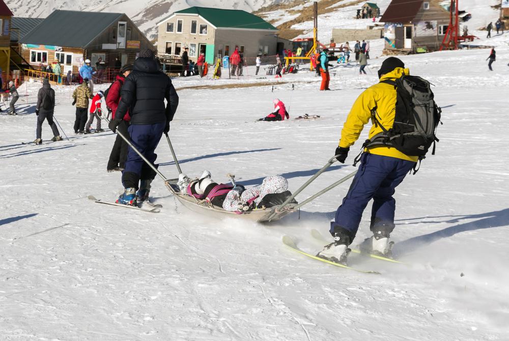スノーボード レスキュー