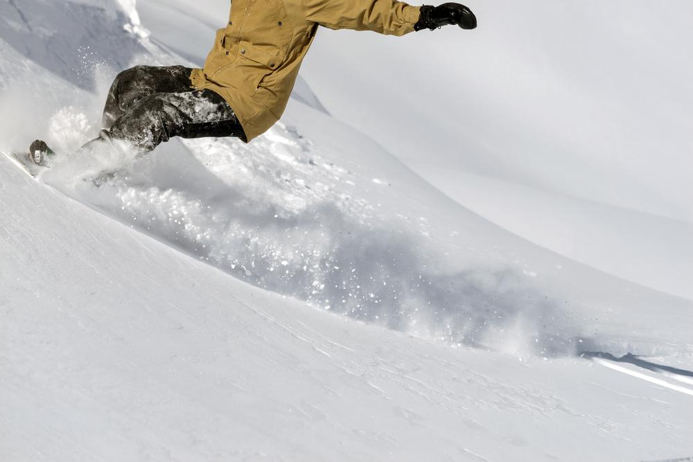スノーボード 魅力的な瞬間