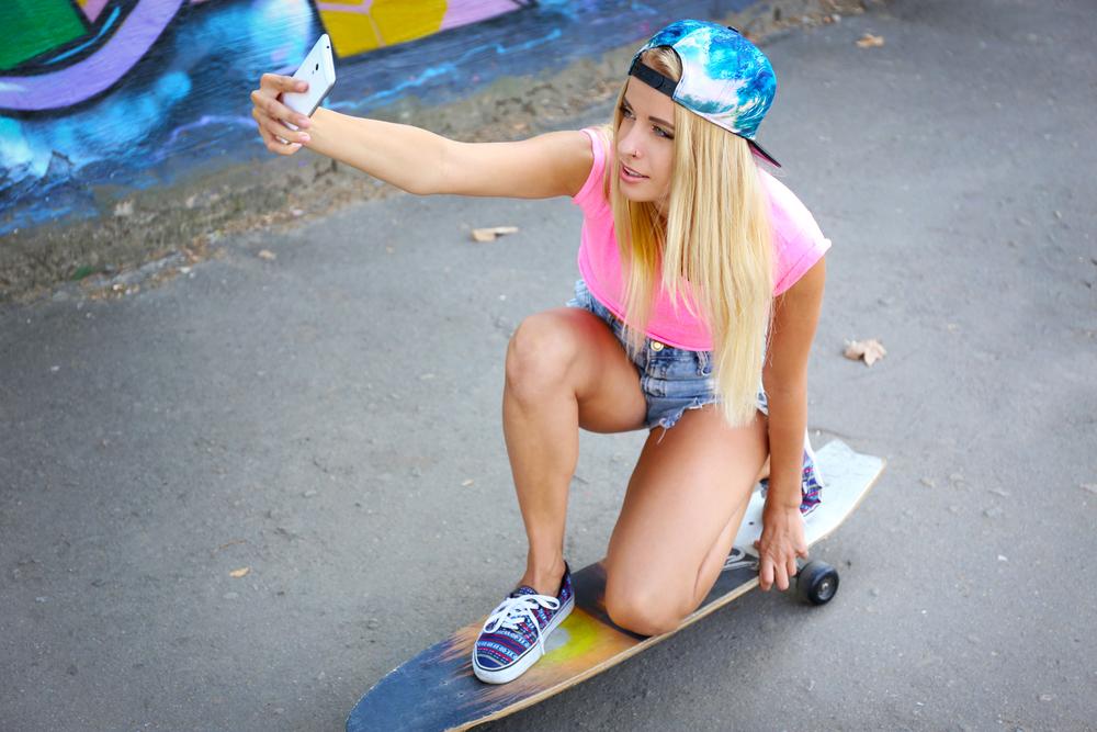 スケーター女子