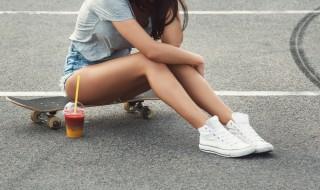 スケートボード 女