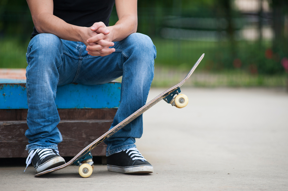 スケートボード 動きやすい恰好