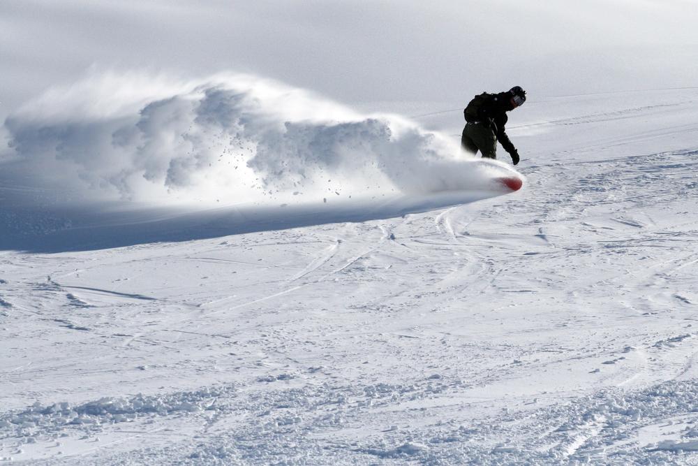 スノーボード 本気