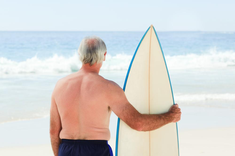 サーフィン おじさん
