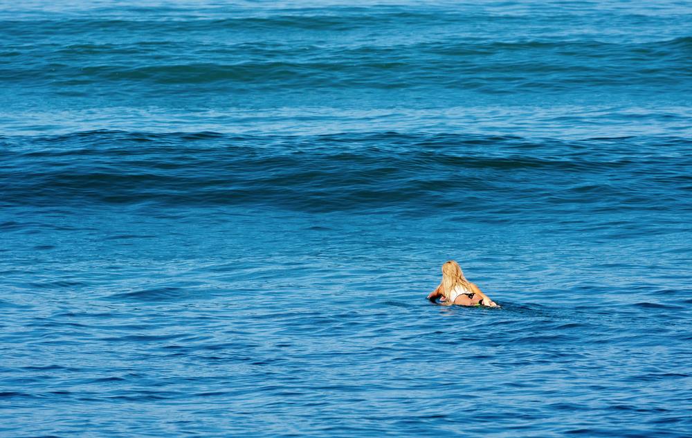 サーフィン 浮く