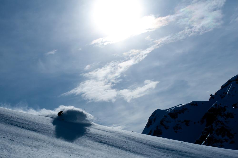 スノーボード ターン2