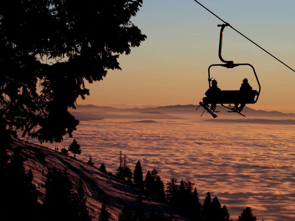 スノーボード 景色