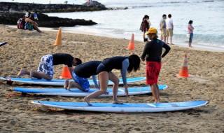 サーフィン始める