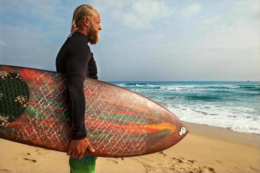 サーフィン 男2