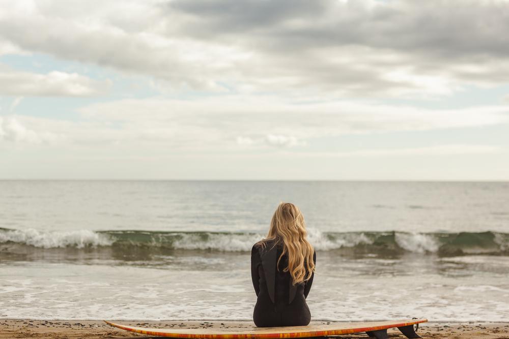 サーフィン休む