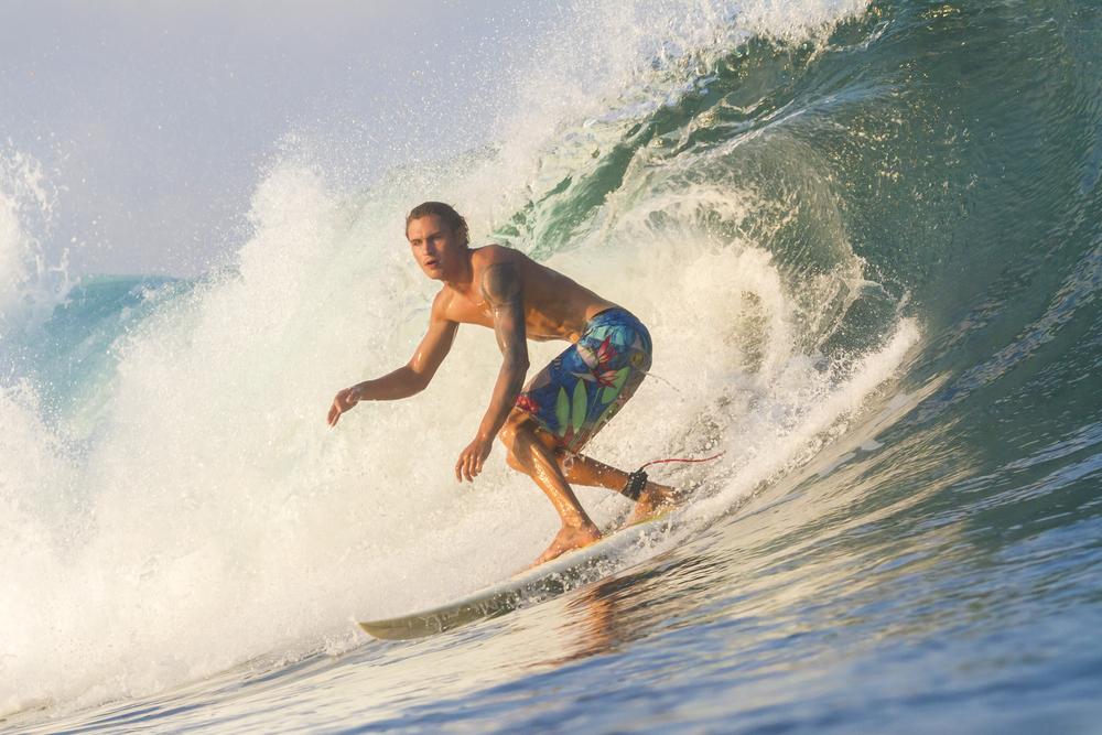 サーフィン 短髪