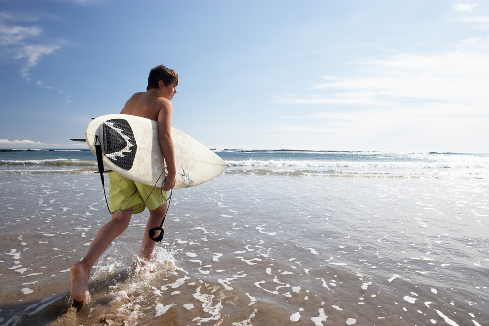 サーフィン 10代