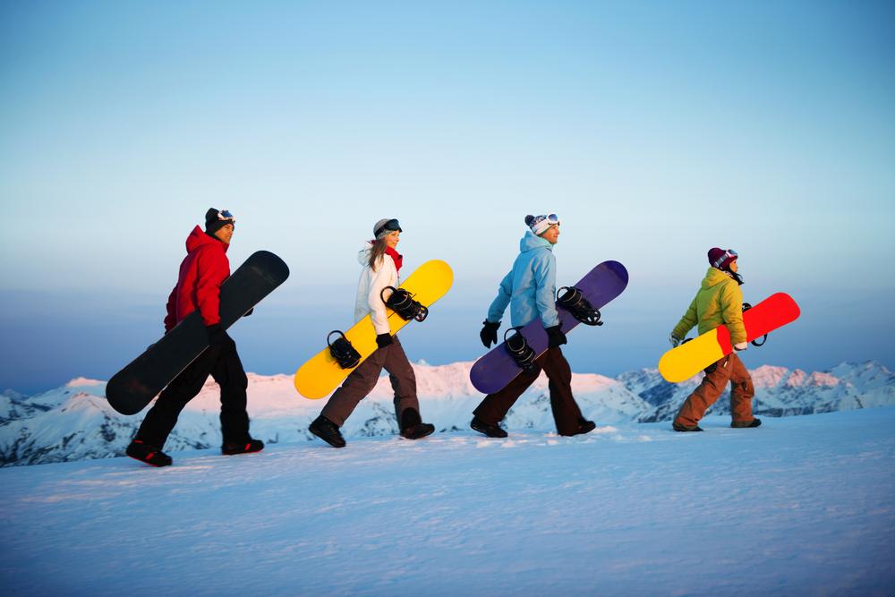 スノーボード デート2