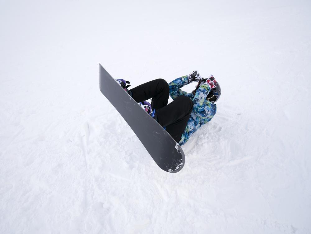 スノーボード 怪我