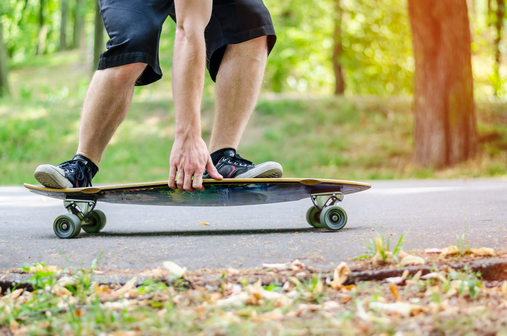 スケートボード 体重移動