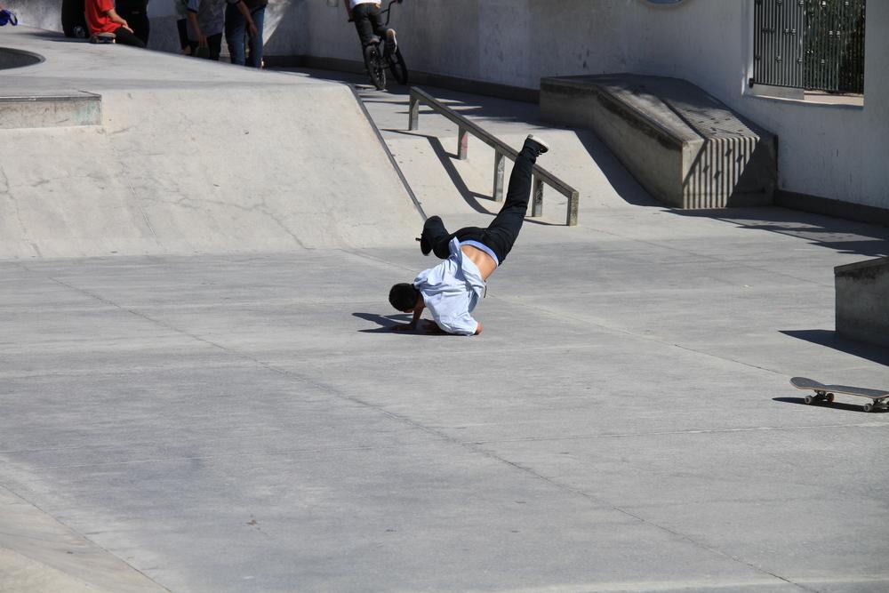 スケートボード スラム