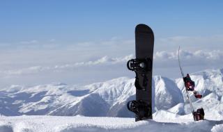 スノーボード 雪山