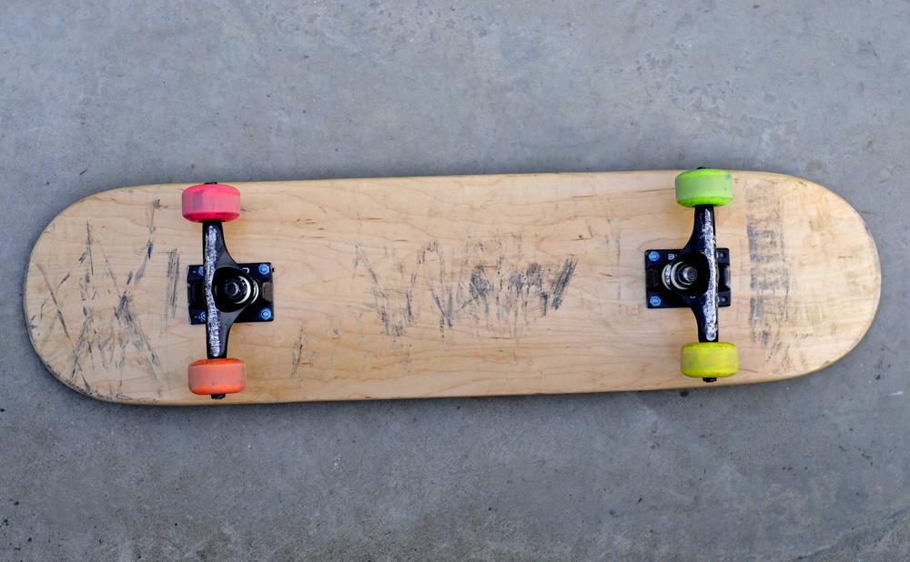 スケートボード デッキお下がり