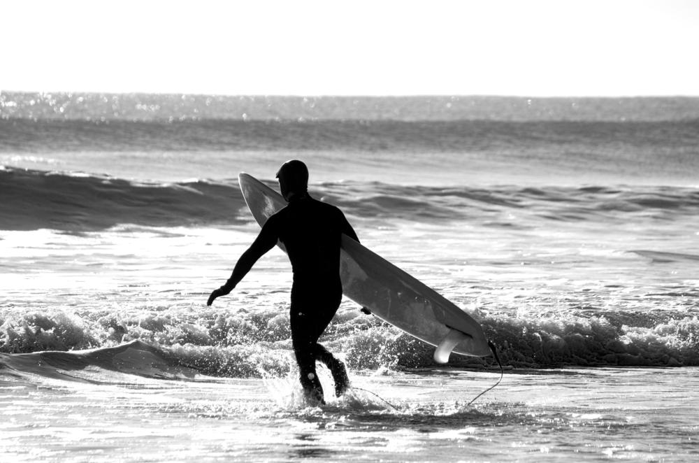 サーフィン寒い