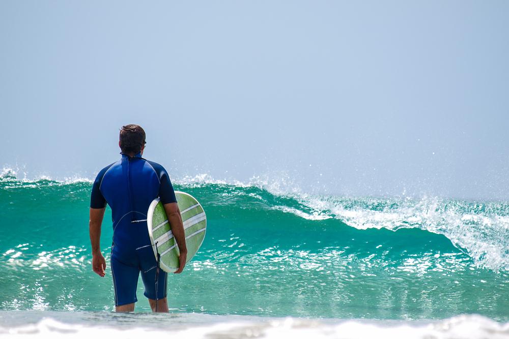 サーフィン 挑む