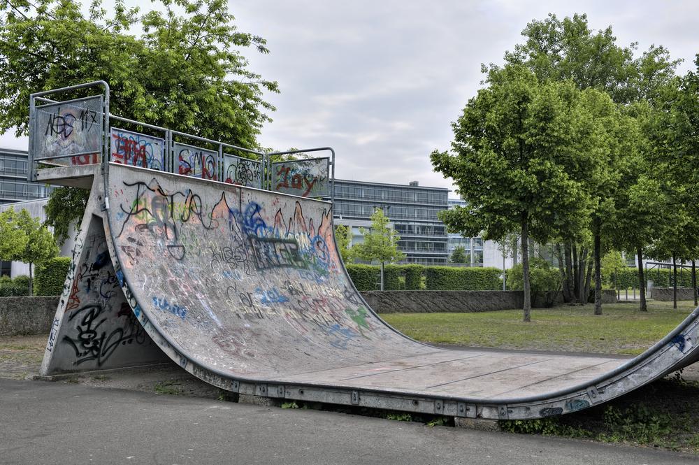 スケートボード バーティカル