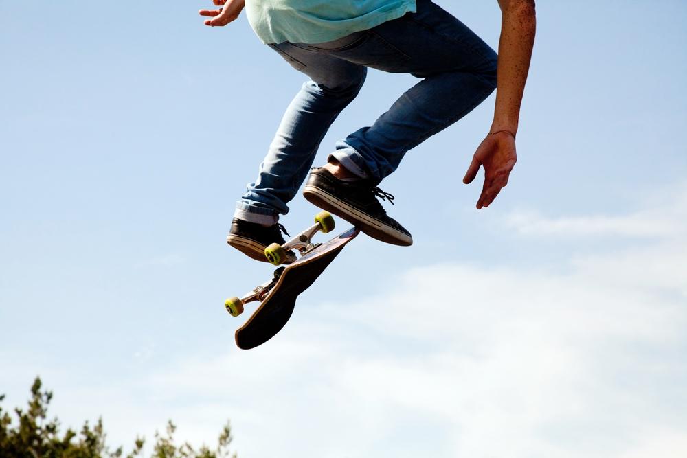 スケートボード フリップ
