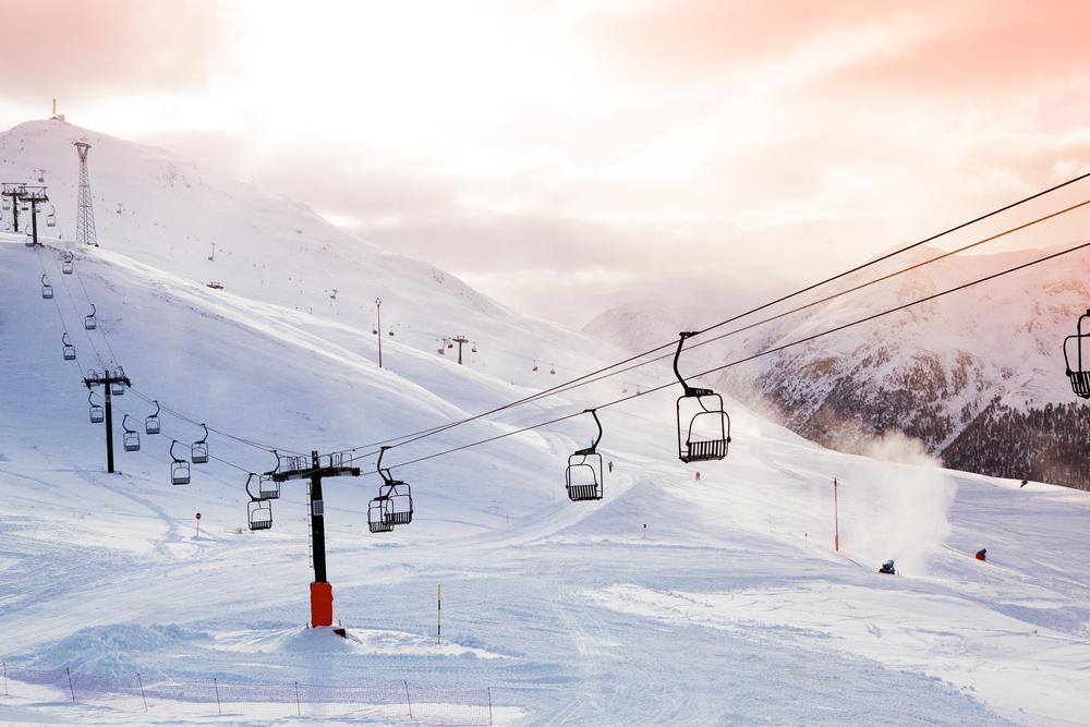 スキー場 リフト2