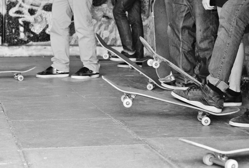 かっこいいスケートボード